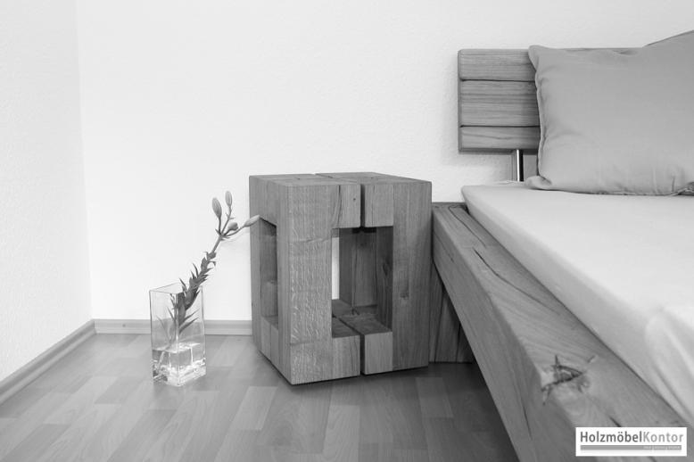 Holz-Hocker – Tisch · Bett · Holzblock | {Design hocker holz 64}